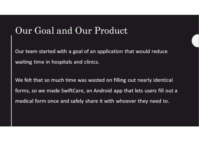 SwiftCare – screenshot 2