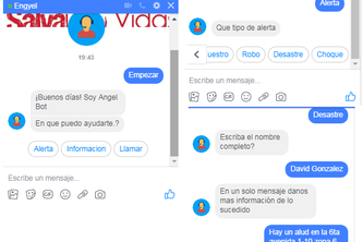Chatbot Angel  Salvando Vidas !!!   Saving Lives !!!