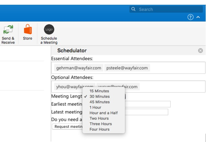 The Schedulator – screenshot 2