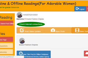 FB Online and Offline For Adorable Women