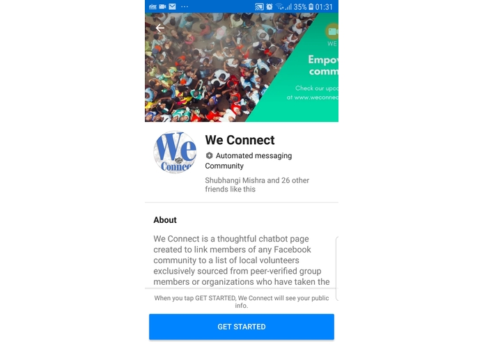 We Connect - for (Female IN) – screenshot 1