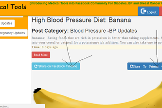 FB Medical Tools - (Be healthy  on Facebook)
