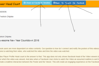 FB Video Viewers Head Count