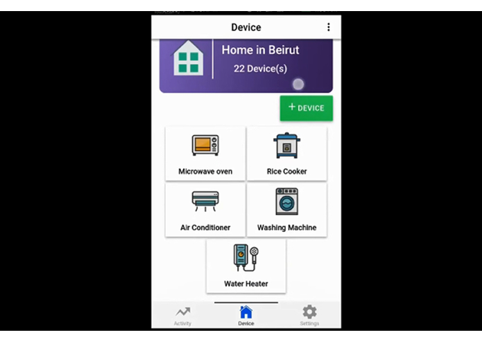 IoT – screenshot 2