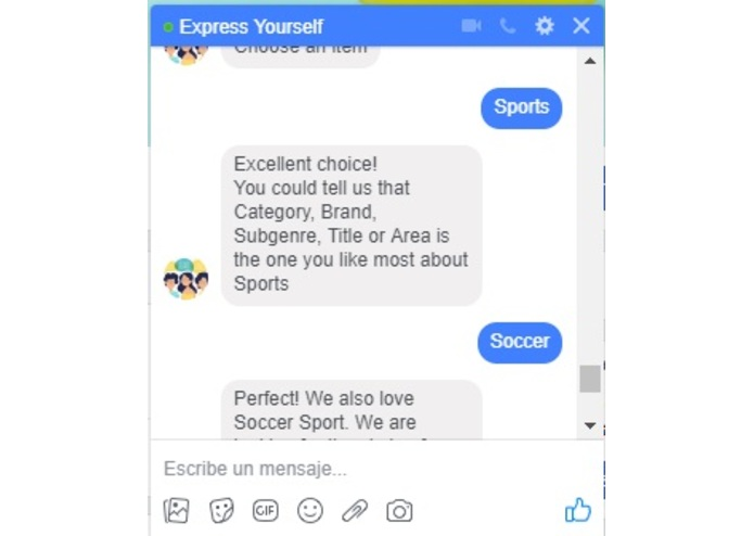 Express Yourself – screenshot 3