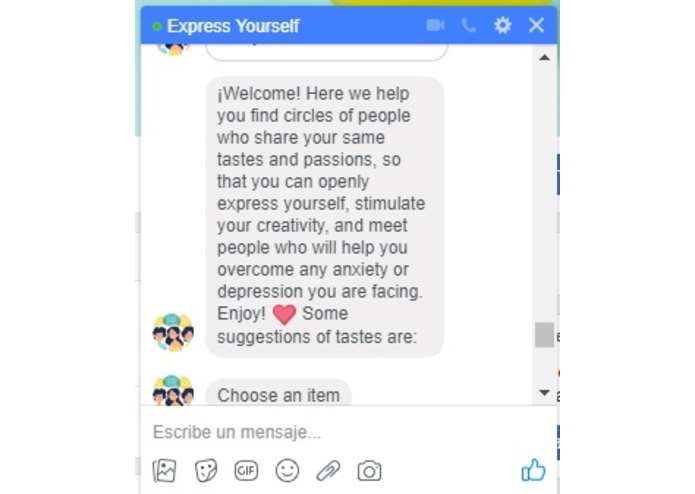 Express Yourself – screenshot 2