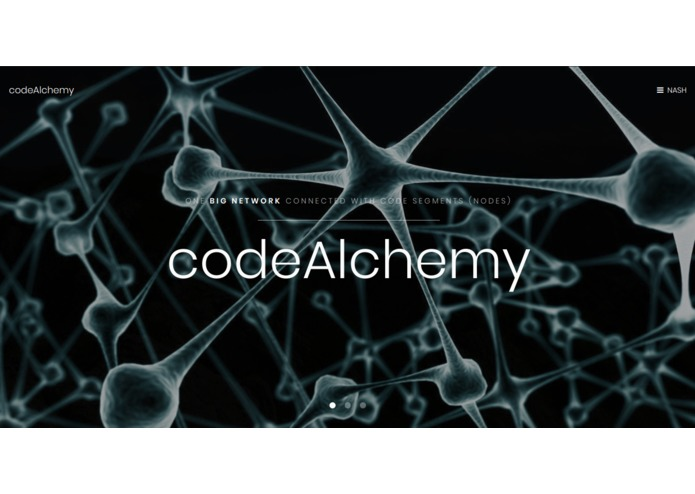 codeAlchemy – screenshot 1