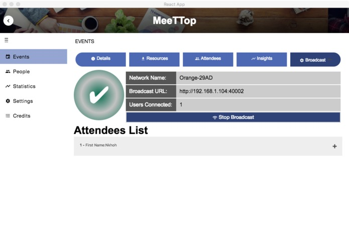 MeeTTop – screenshot 4