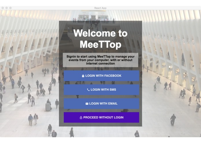 MeeTTop – screenshot 1