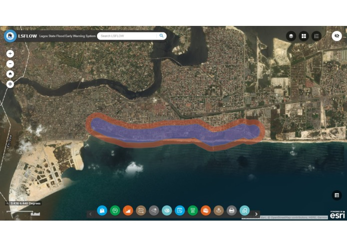 FLOEWS: Flood Early Warning System – screenshot 1
