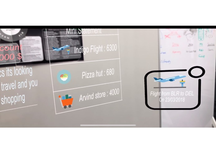 CreditAR - Account management in Augmented Reality – screenshot 5