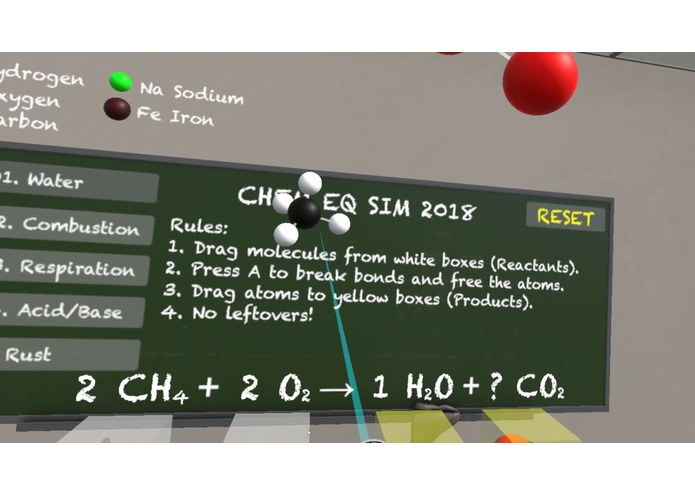 Chem Eq Sim '18 – screenshot 2