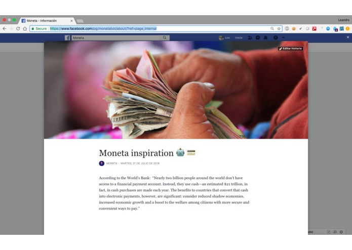 Moneta – screenshot 3