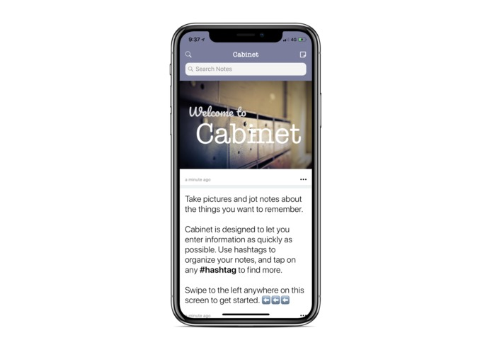 Cabinet - Notes and Photos – screenshot 1