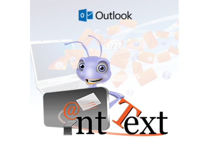 Ant Text to Outlook – screenshot 1