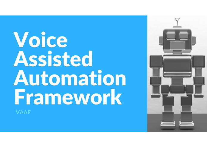 Voice Assisted Automation Framework (VAAF) – screenshot 1