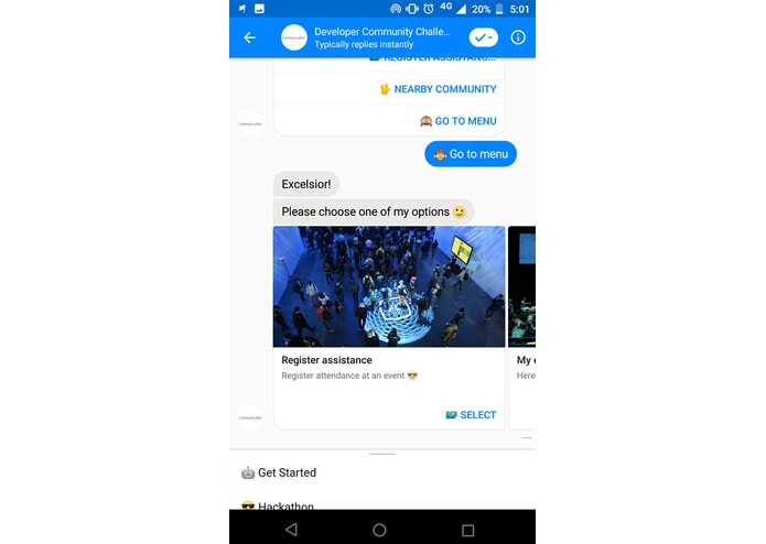 CommunityBot – screenshot 3