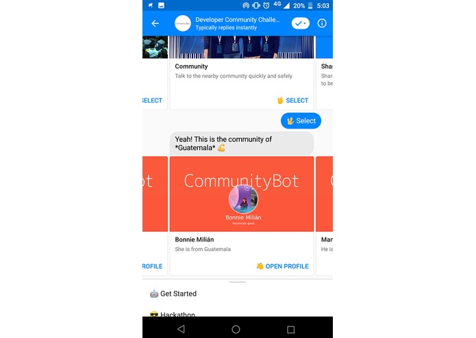 CommunityBot – screenshot 7
