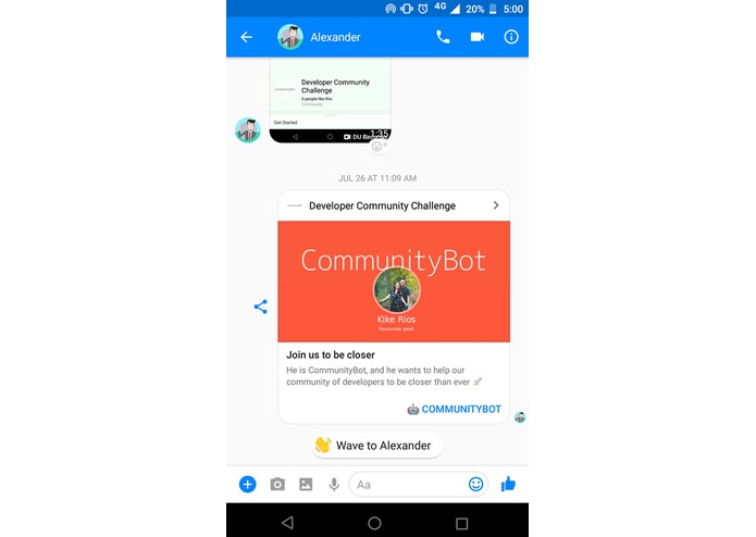 CommunityBot – screenshot 10