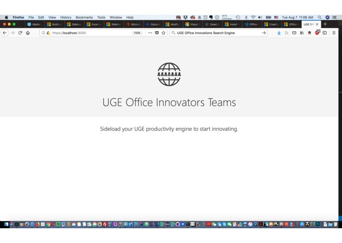 UGE Office Innovation Search Engine – screenshot 1