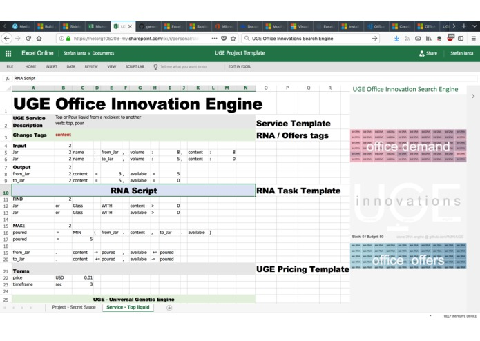 UGE Office Innovation Search Engine – screenshot 3