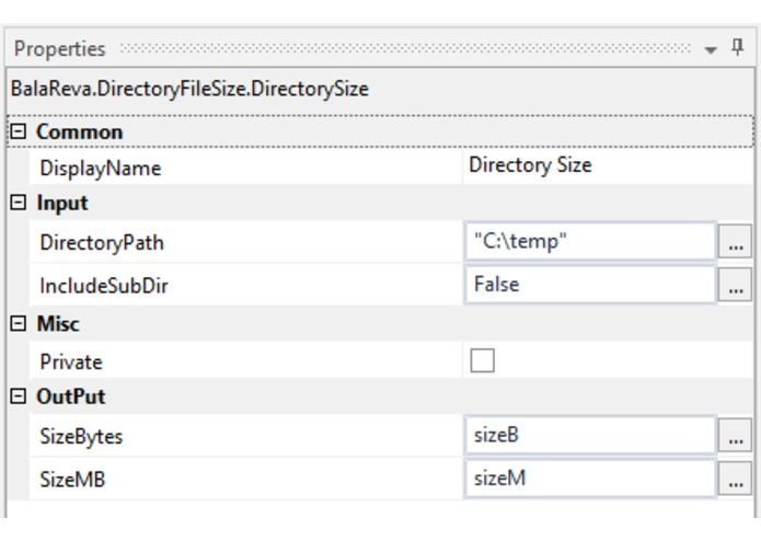DirectoryFile Size Activities – screenshot 3