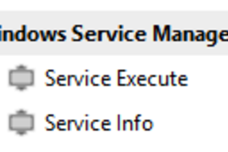 Windows Service Activities