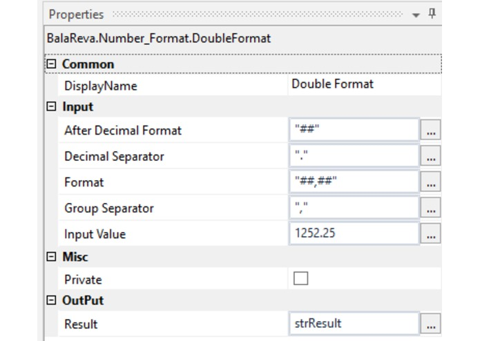 Format Number Activities – screenshot 3