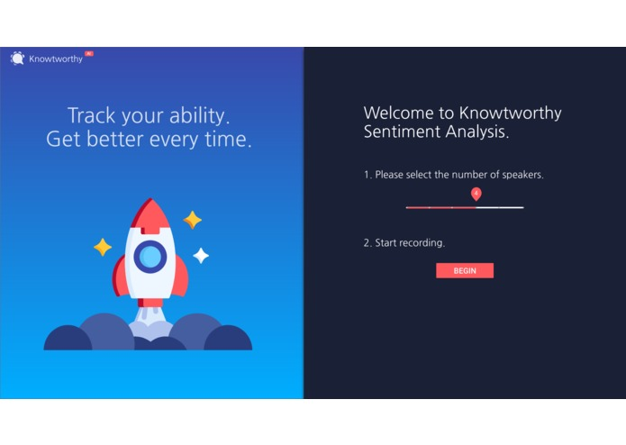 Knowtworthy Sentiment – screenshot 1