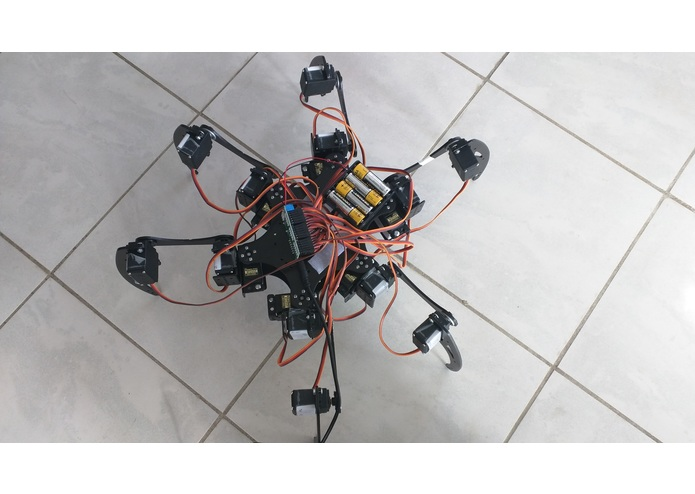 Hexapod Rescue Robot – screenshot 3