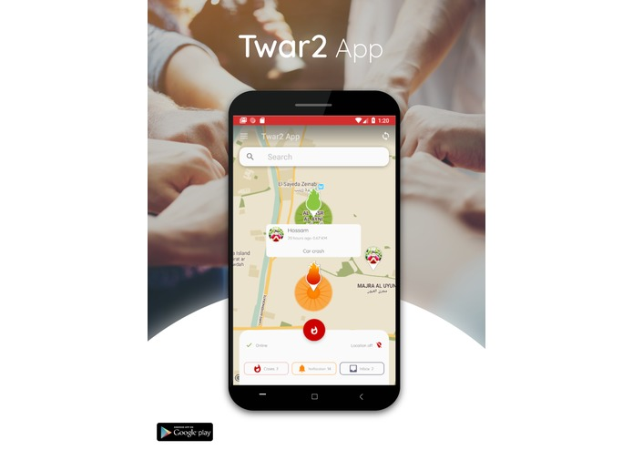 Twar2 App – screenshot 1