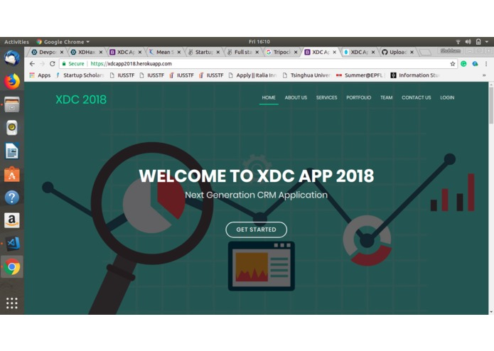 XDC App 2018 – screenshot 1