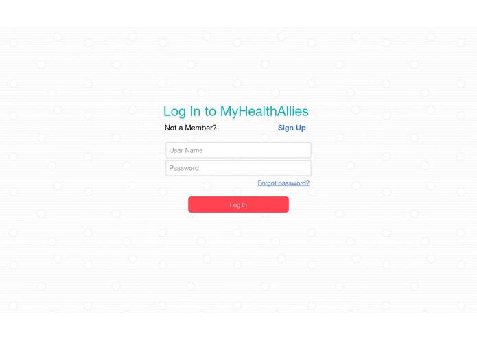 MyHealthAllies – screenshot 1