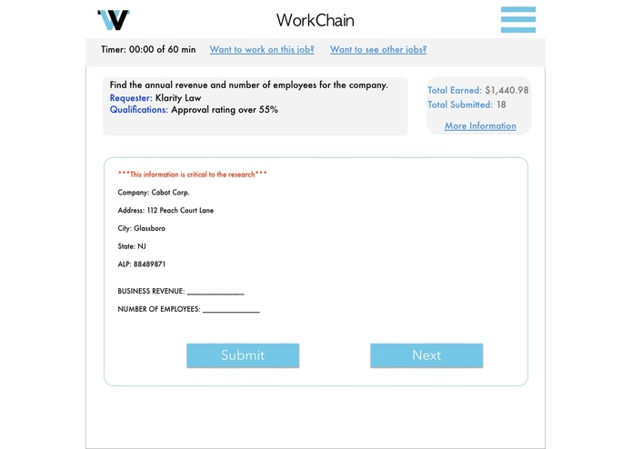 Workchain – screenshot 2