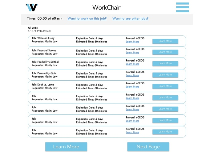 Workchain – screenshot 5