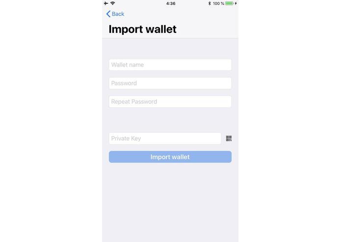 DiveLane - Apple Pay for Ethereum – screenshot 2