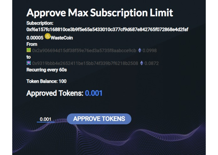 Token Subscription – screenshot 7