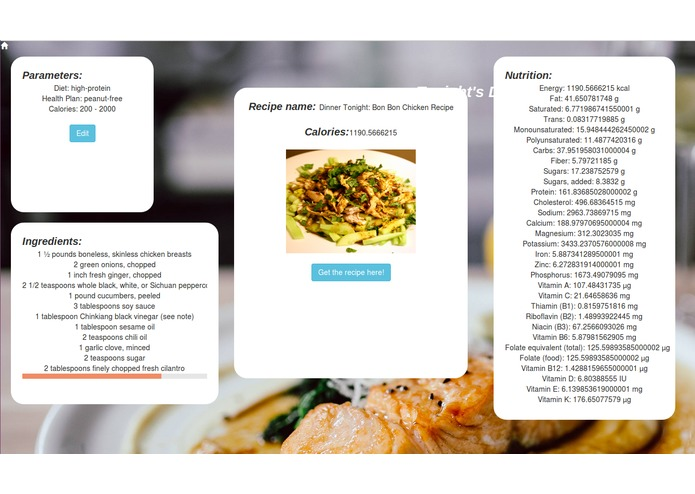 Team Delicious: Meal Planner – screenshot 3