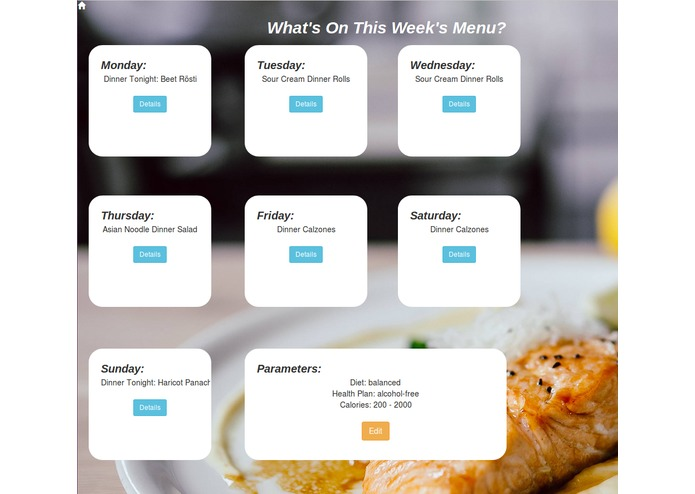 Team Delicious: Meal Planner – screenshot 4