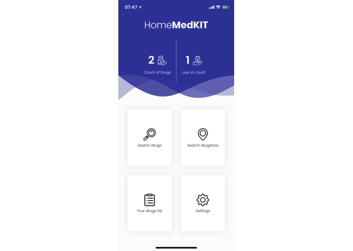 Home MedKIT – screenshot 1