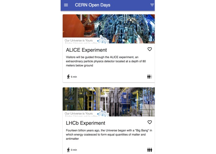 Alice Open Days App – screenshot 1