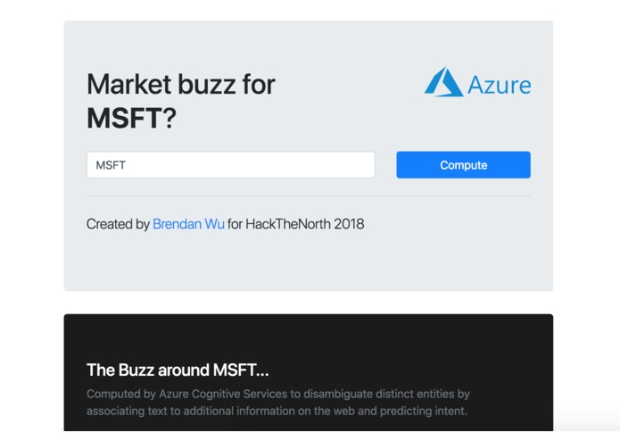 marketbuzz – screenshot 1