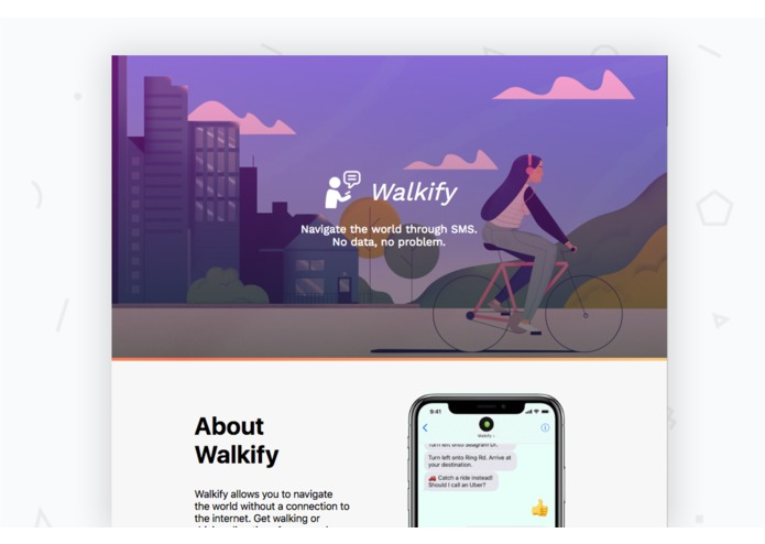 Walkify – screenshot 1