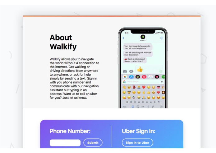 Walkify – screenshot 2