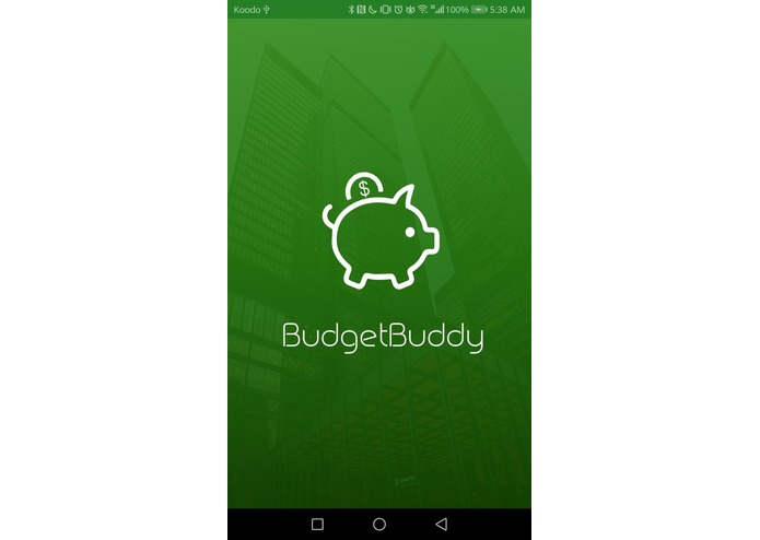 BudgetBuddy – screenshot 1