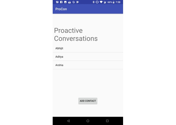 ProCon - Proactive Conversations – screenshot 1