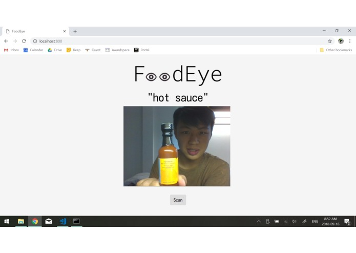 FoodEye – screenshot 2