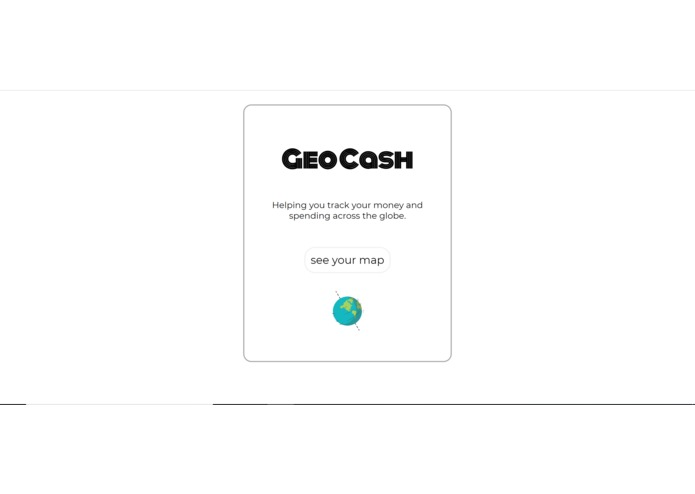 GeoCash – screenshot 1