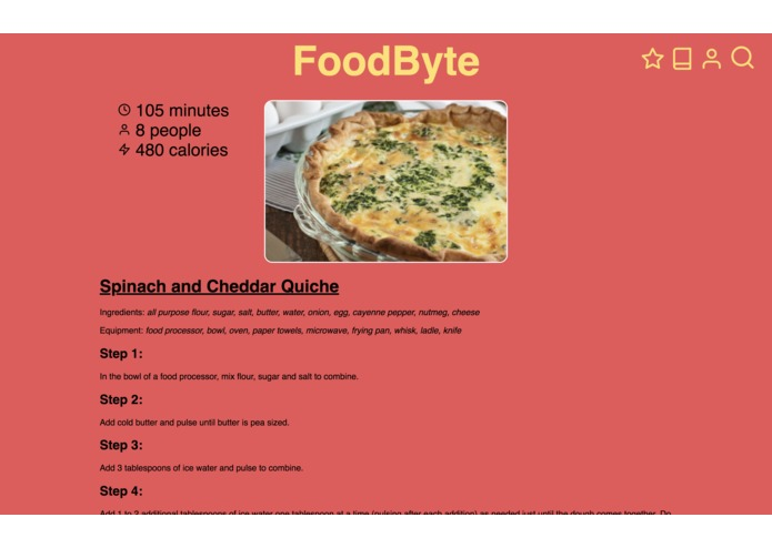 FoodByte – screenshot 4