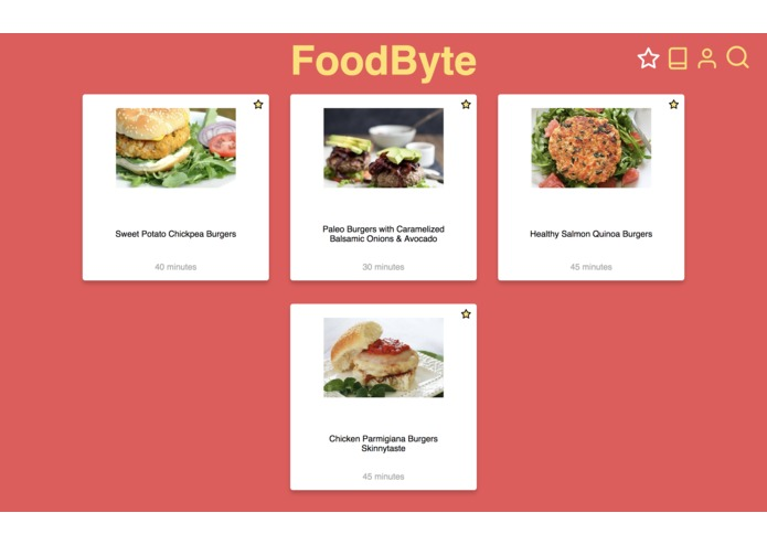 FoodByte – screenshot 5
